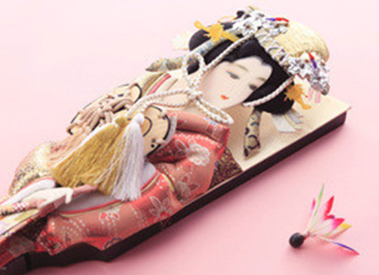 Hagoita 【Japanese traditional culture, traditional craft, New Year】