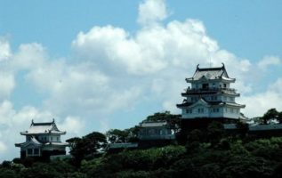 """Castle Stay"" at Hirado Castle in Nagasaki"