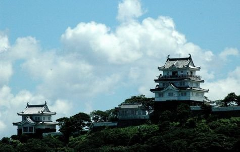 """Castle Stay"" at Hirado Castle in Nagasaki"