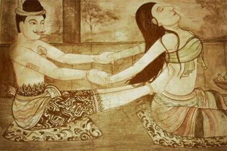 Traditional Thai massage (Nuat phaen boran)