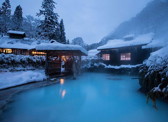 How to enjoy a Japanese hot spring. 5 rules and manners (Japanese ONSEN)