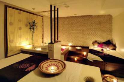 Spa design ( Color effect )